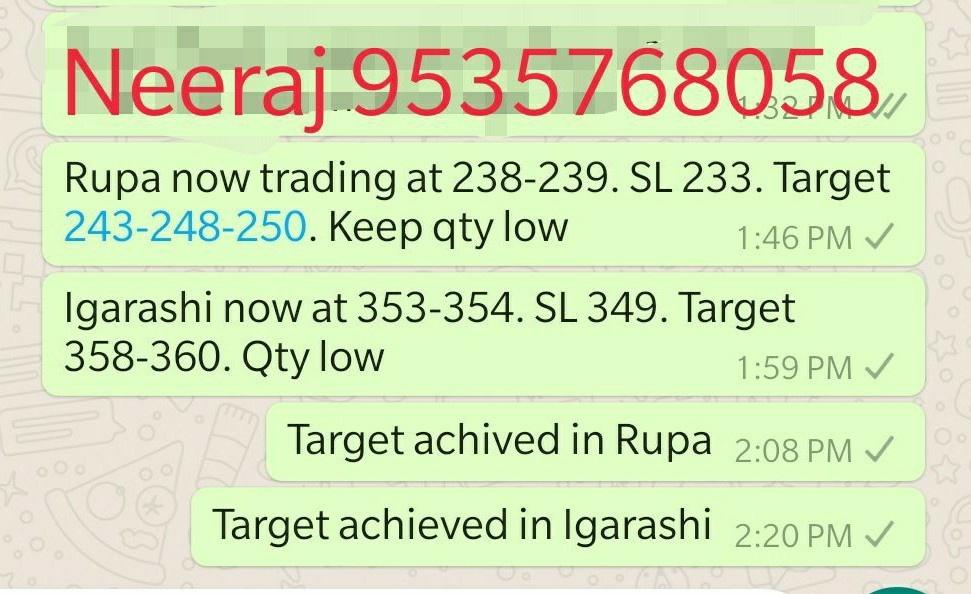 neerajs activity - 538803
