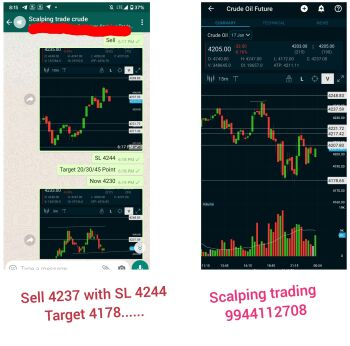 Scalping trade Crudeoil - 527535