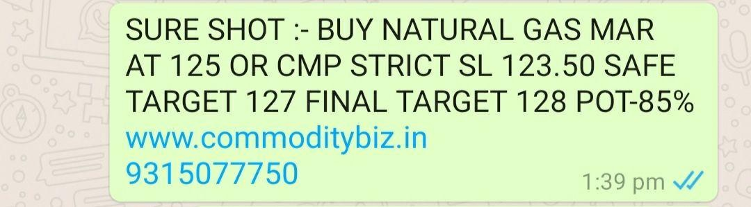 @commodity's activity - 674650