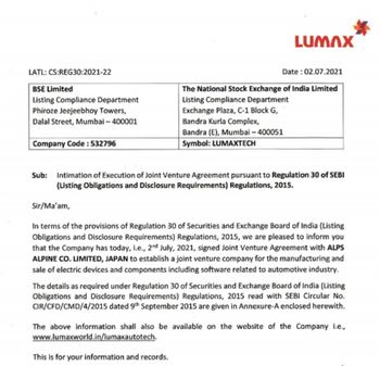 LUMAXIND - 3741331