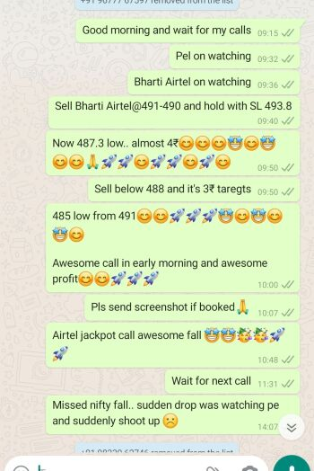 Intraday Cash and Option calls - 1308344