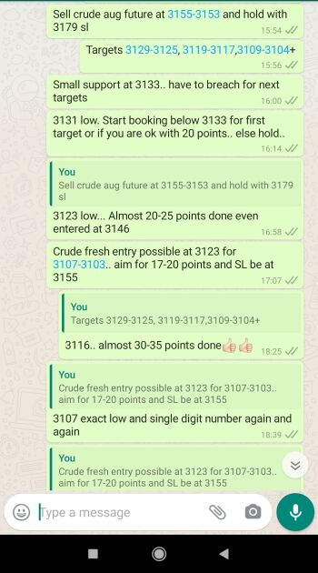 Crude Oil Tips - 1064166
