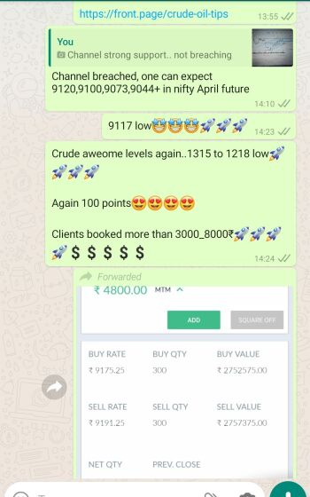 Intraday Cash and Option calls - 739008