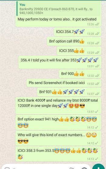 Intraday Cash and Option calls - 868748