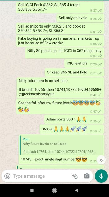 Intraday Cash and Option calls - 989903