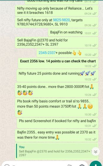 Intraday Cash and Option calls - 904292