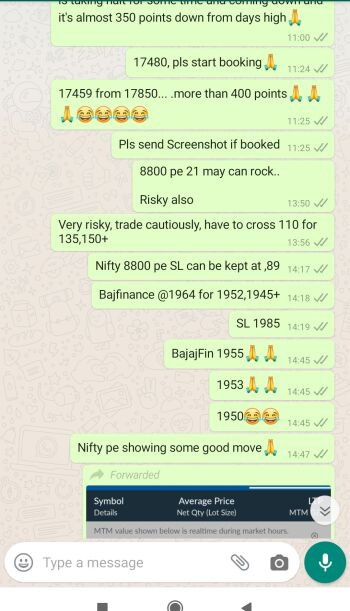Intraday Cash and Option calls - 804138