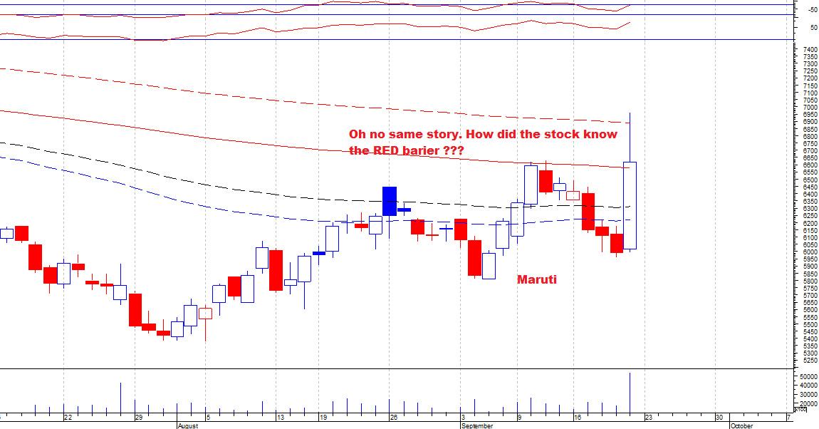 MARUTI - chart - 370125