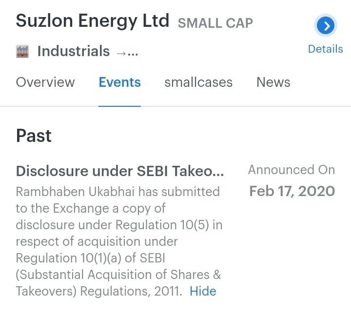 SUZLON - 623111