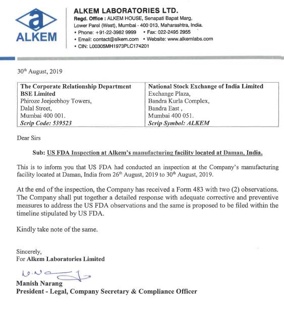 ALKEM - 336807