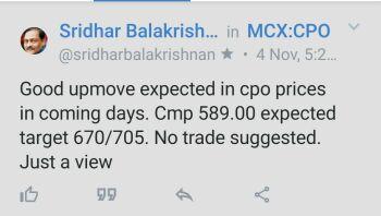 MCX:CPO - 425839