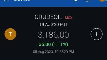 MCX:CRUDEOIL - 1118975