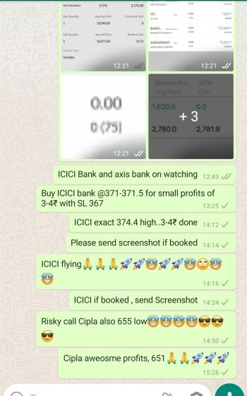 Intraday Cash and Option calls - 933722