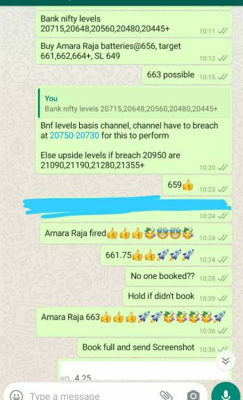Intraday Cash and Option calls - 862973