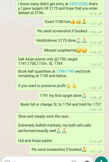 Intraday Cash and Option calls - 753671