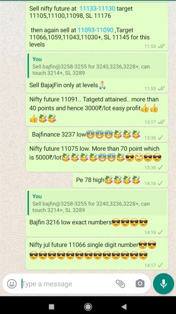 Intraday Cash and Option calls - 1057168