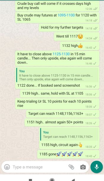Crude Oil Tips - 749564