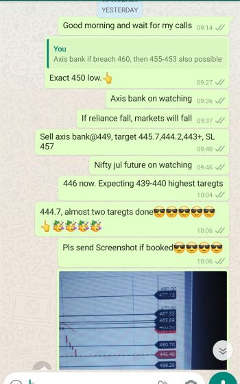 Intraday Cash and Option calls - 1070142