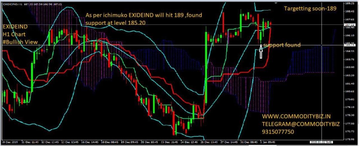 EXIDEIND - chart - 507237