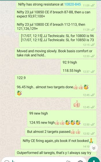 Intraday Cash and Option calls - 1040863