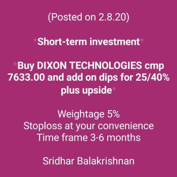 Investment Ideas - 1101628