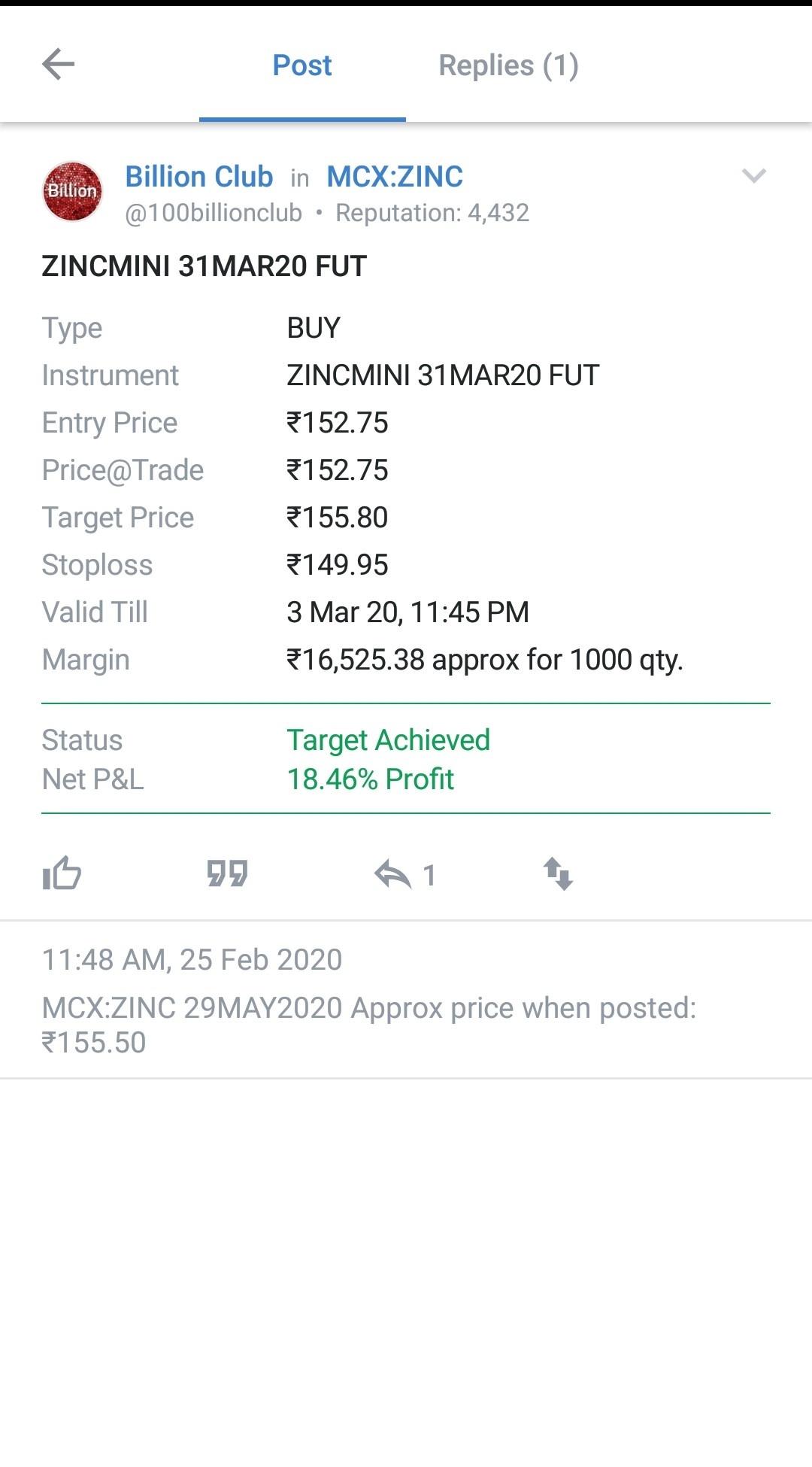 MCX:ZINC - 622910