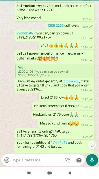 Intraday Cash and Option calls - 753653