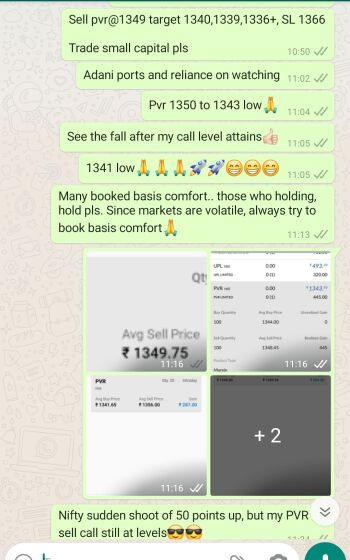 Intraday Cash and Option calls - 1273298