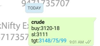 MCX:CRUDEOIL - 1148555