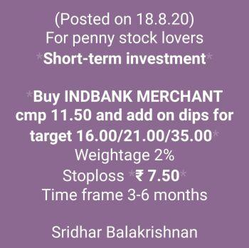 Investment Ideas - 1174752
