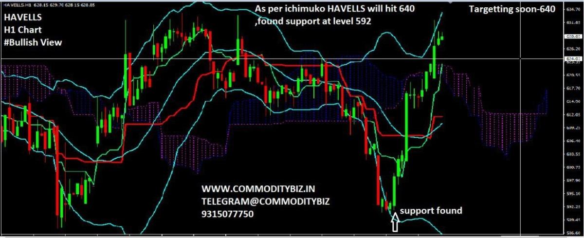 HAVELLS - chart - 614623