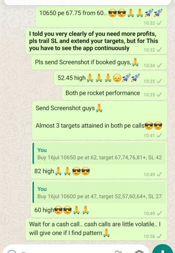 Intraday Cash and Option calls - 1022842