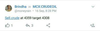 MCX:CRUDEOIL - 361935