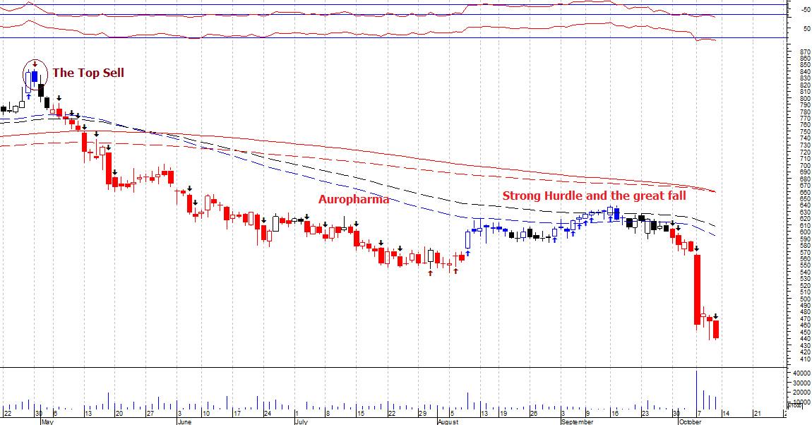 AUROPHARMA - chart - 396321