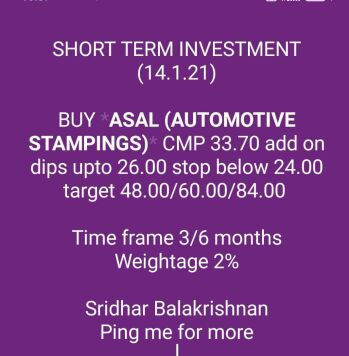 Investment Ideas - 2115482