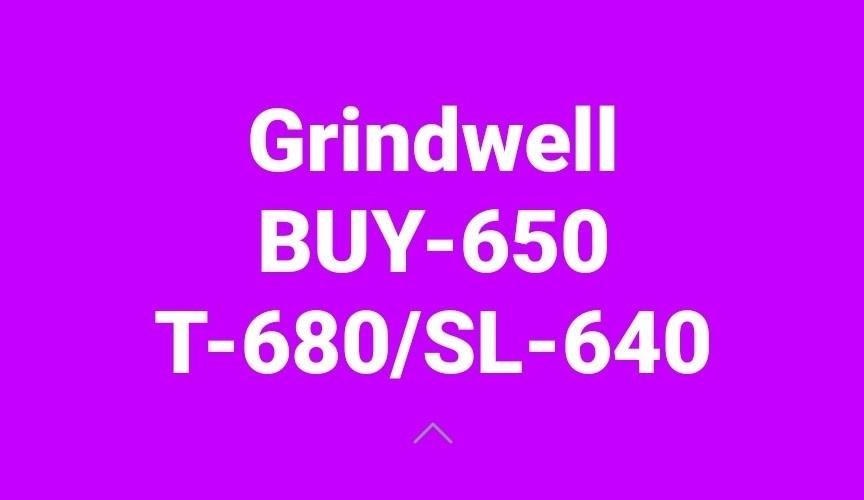 GRINDWELL - 371644